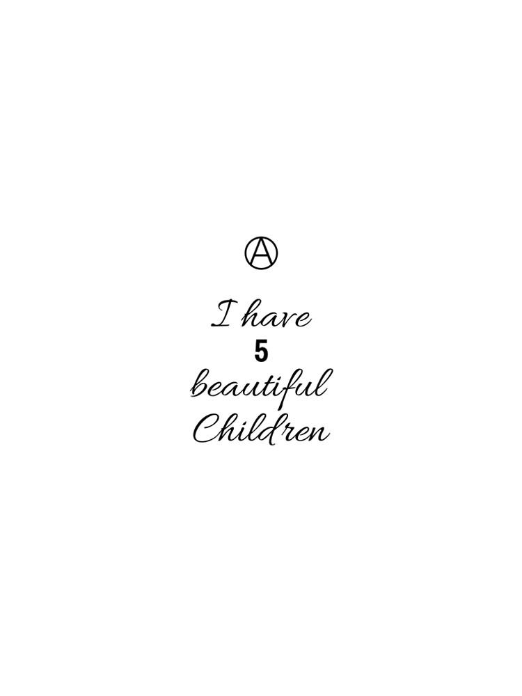 5 Beautiful Children  by Ashanna