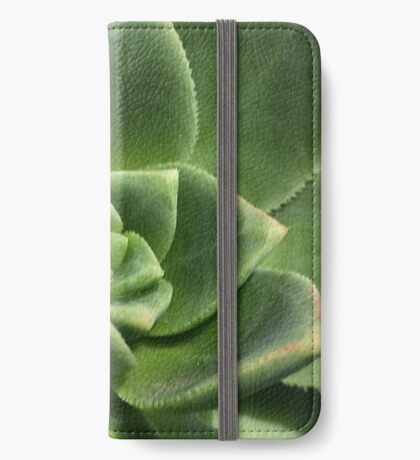 Green Faced iPhone Wallet
