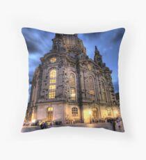 frauenkirche Throw Pillow