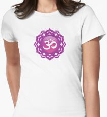 Crown Chakra Women's Fitted T-Shirt
