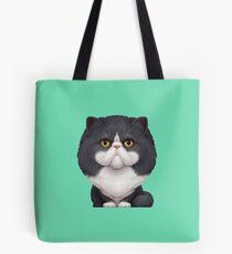 Black & White Persian Cat Tote Bag