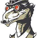 Dromeosaur Industrial vector by Joshosaurus