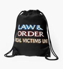 Law & Order Drawstring Bag