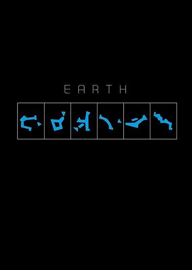 Earth chevron destination symbols by Vinchenko