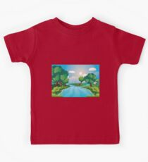 Hills and River 2 Kids Tee