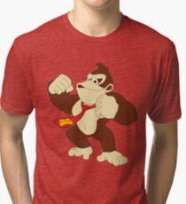 DONKEY KONG  Tri-blend T-Shirt