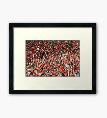 Red Sea Framed Print