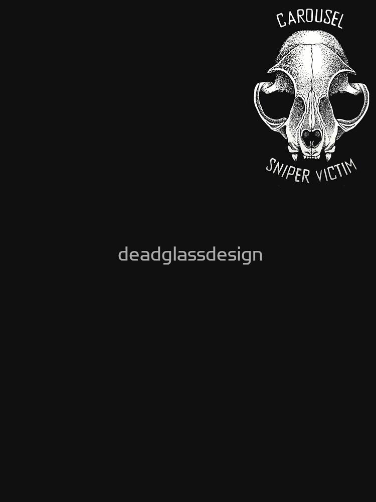 Carousel Sniper Victim O.G (black tee Optimised)  by deadglassdesign