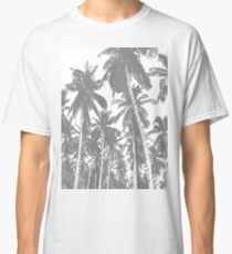 Palm Trees in a Posterised Design Classic T-Shirt