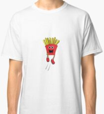Jumping French Fries Classic T-Shirt