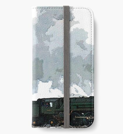 Oliver Cromwell Poster bywhacky iPhone Wallet