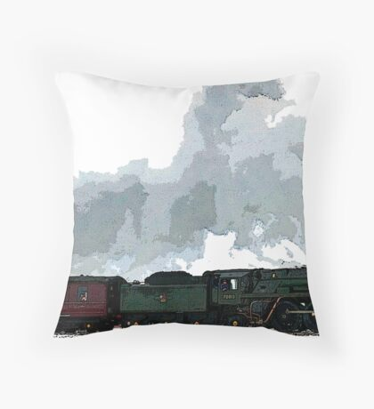 Oliver Cromwell Poster bywhacky Throw Pillow