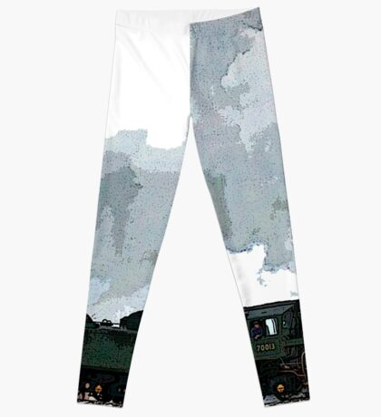Oliver Cromwell Poster bywhacky Leggings