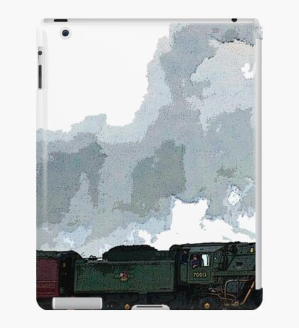 Oliver Cromwell Poster bywhacky iPad Case/Skin