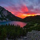 Sinanica lake at sunset, Bulgaria by Ivo Velinov