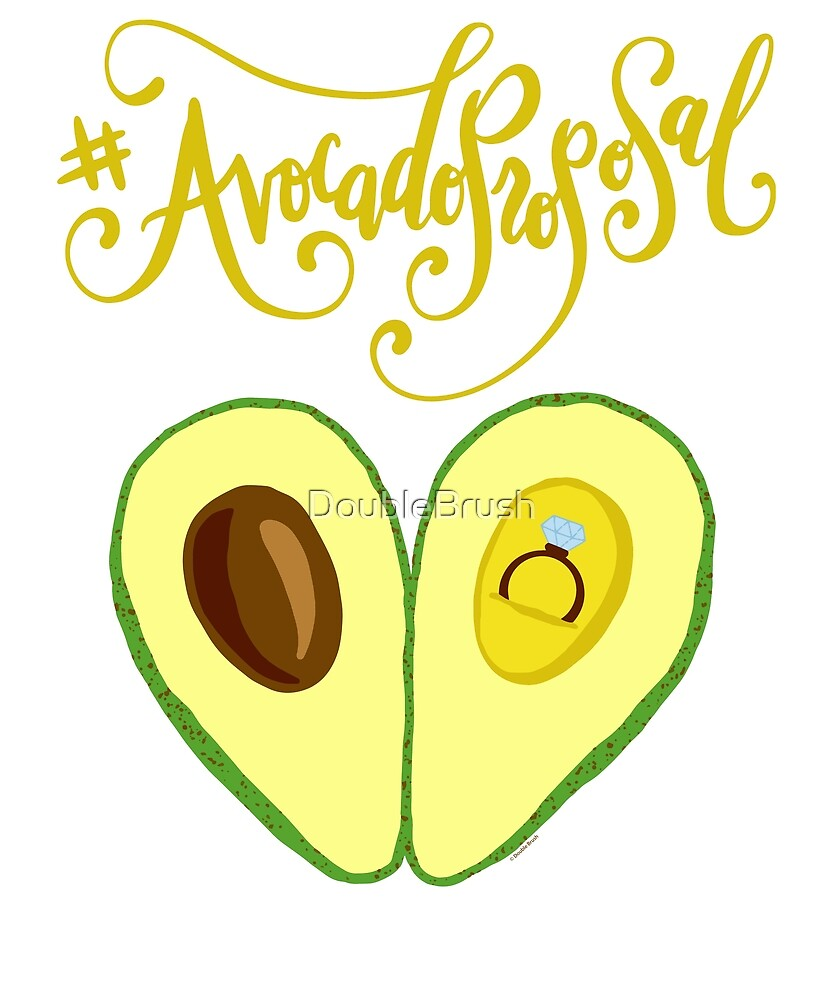 Avocado Proposal Funny Engagement Gift\