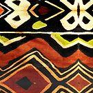 Africa Design Fabric Texture by BluedarkArt