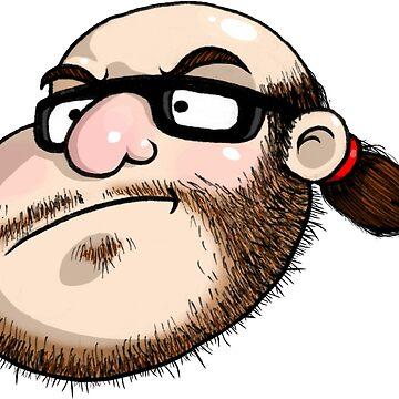 The Neckbeard (No Text) by BlazeHedgehog