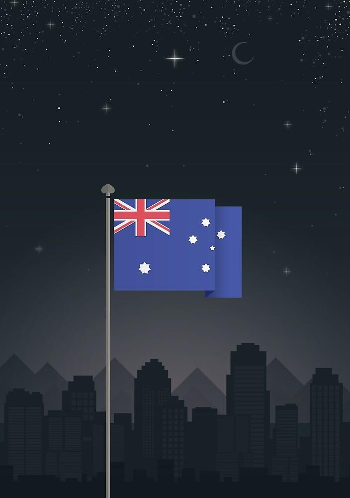 Australia by FlatFlags