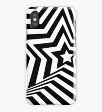 Optical illusion with texture iPhone Case/Skin