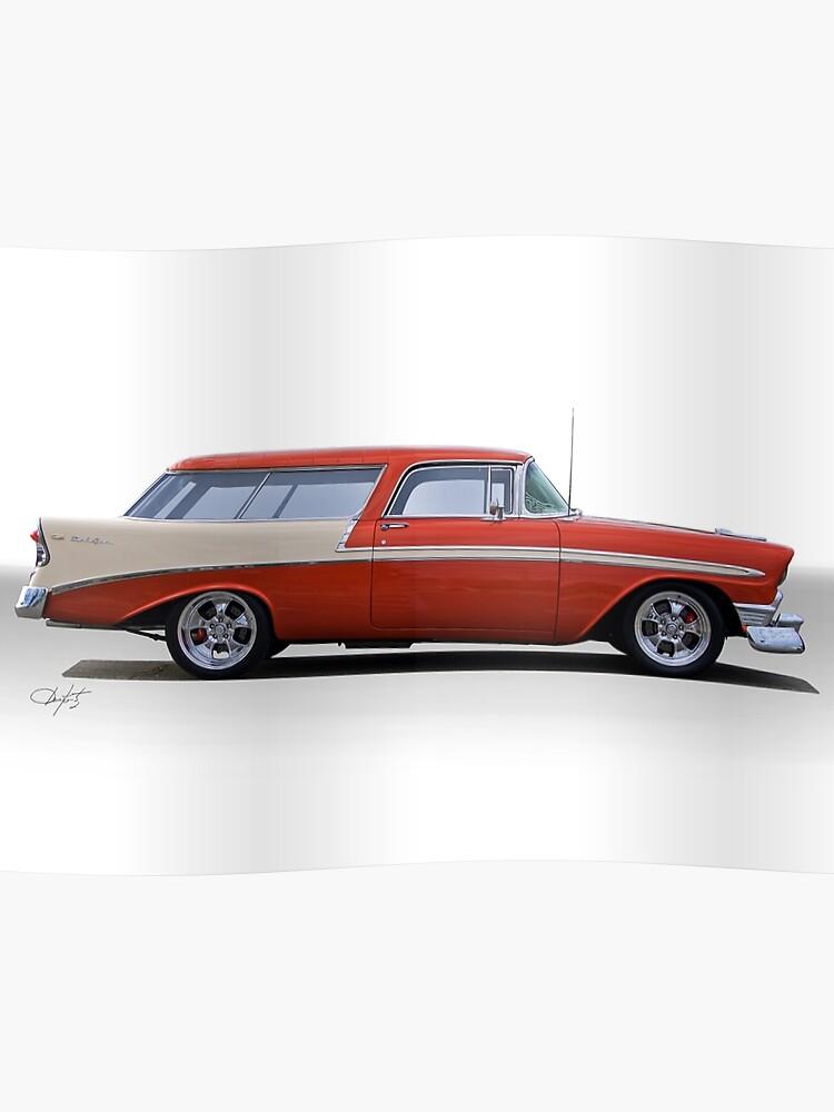 1956 Chevrolet Nomad Wagon Poster