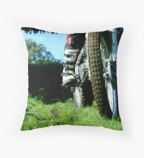 Head On Collision! Throw Pillow