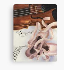 Ribbons and Strings Canvas Print