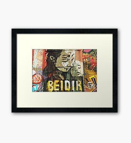 Bei dir (With you) Framed Print