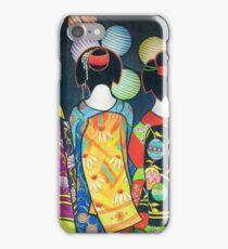 Group of Geishas iPhone Case/Skin