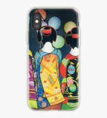 Group of Geishas iPhone Case