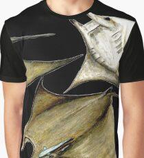 Chilean devil manta ray (Mobula tarapacana) Graphic T-Shirt