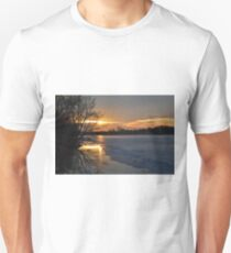 Icy Dawn Unisex T-Shirt