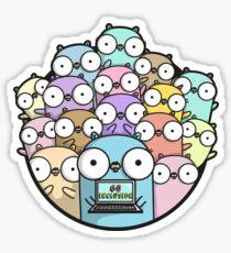 go inclusion Sticker