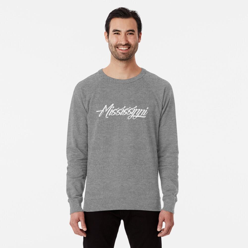 Mississippi-Skript Leichter Pullover