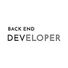 Back End Developer (Inverted) by developer-gifts