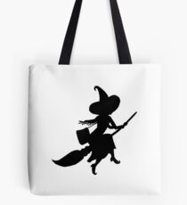 Lilya the Witch flying Tote Bag