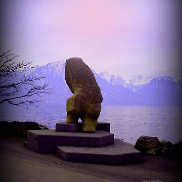 Watching the Lake by Sita