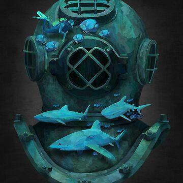 Deep diving by filgouvea