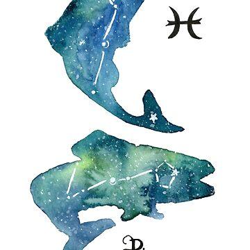 Pisces by myartjourney