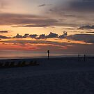 Sunset on the Beach 2 by LarryB007