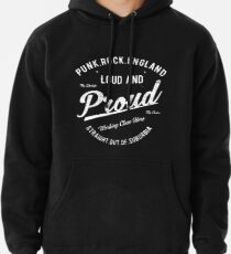 Punk Rock England - Loud and Proud Pullover Hoodie