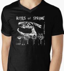 Rites of Spring (prior to fugazi) Men's V-Neck T-Shirt