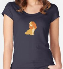 Beloved Family Dog Fitted Scoop T-Shirt
