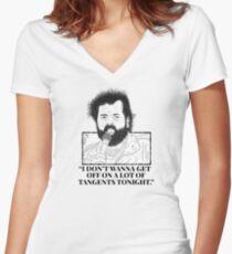 #HARMON Women's Fitted V-Neck T-Shirt