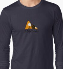 Shift Shirts Two Seconds – Autocross Racing Inspired Long Sleeve T-Shirt