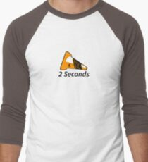 Shift Shirts Two Seconds – Autocross Racing Inspired Baseball ¾ Sleeve T-Shirt