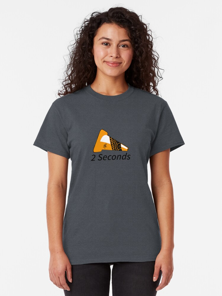 Alternate view of Shift Shirts Two Seconds – Autocross Racing Inspired Classic T-Shirt