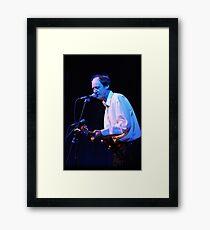 John Otway - Live on Stage Framed Print