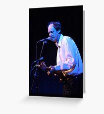 John Otway - Live on Stage Greeting Card
