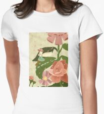 In the Garden Women's Fitted T-Shirt